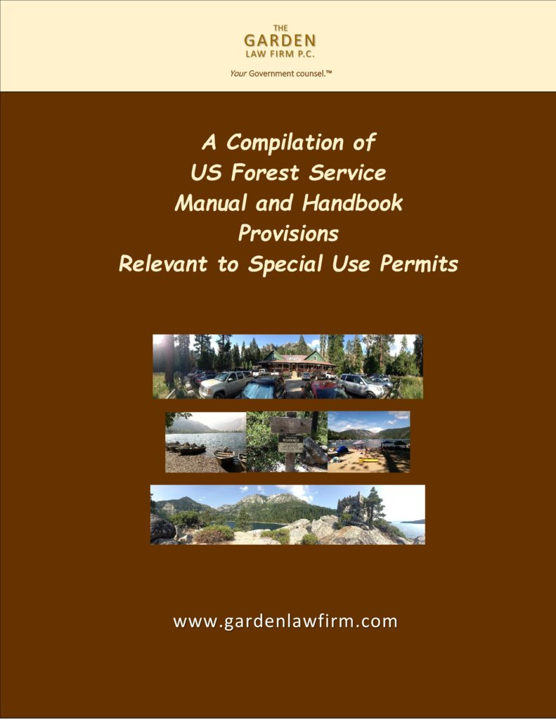 Cover page photo of FS Manual for website